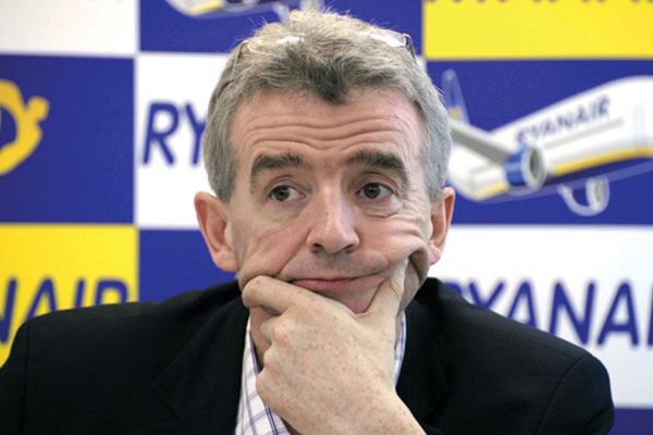 O'Leary slams ATC strikes after €10-€20 million losses