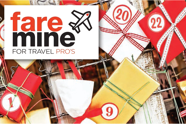 Faremine advent calendar: Unwrap some festive fun