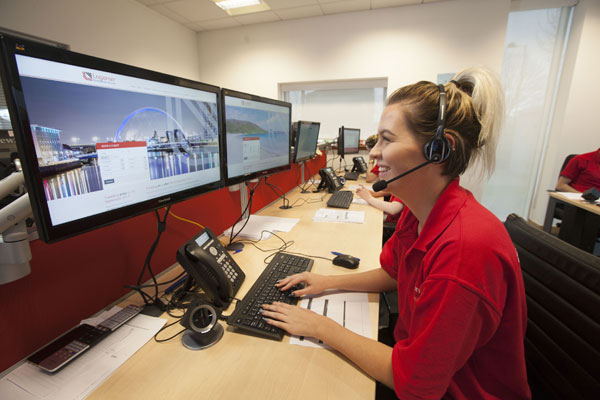 Loganair opens new booking system and contact centre