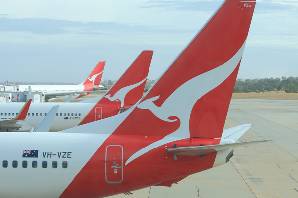Qantas trims back planned capacity increases as demand softens