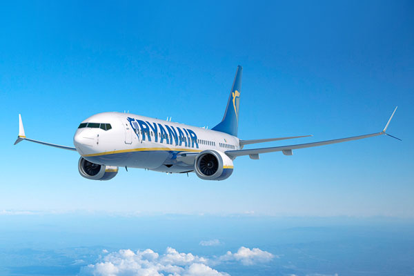 Drunken stag party forces diversion of Ryanair flight