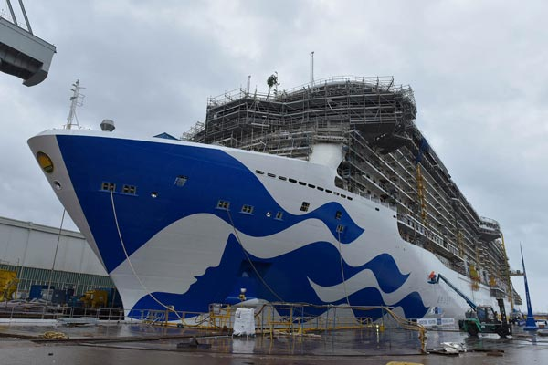 Princess Cruises reveals new fleet livery