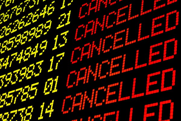 Mass flight cancellations as French ATC strike starts
