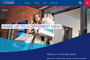 Travelodge's new careers website aims to recruit 750 staff