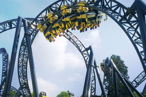 Four 'seriously hurt' in Alton Towers ride collision
