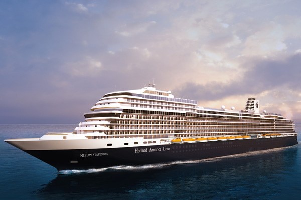Holland America Line names second new ship