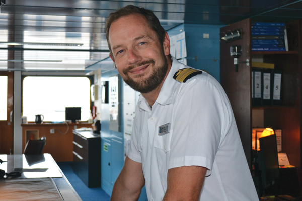 Day in the life: Magnus Davidson, Azamara Captain
