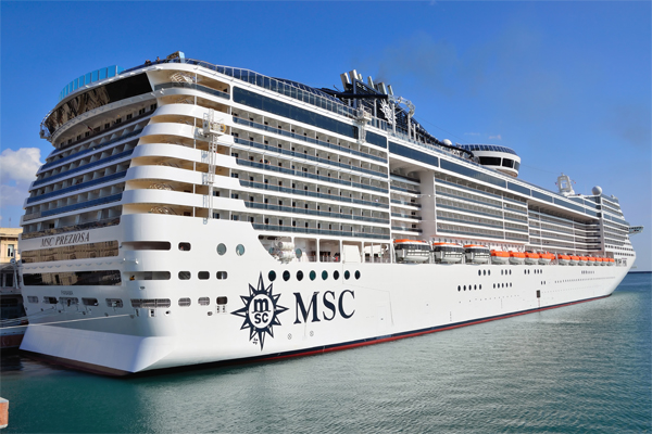 MSC Cruises to increase capacity out of Southampton in 2019