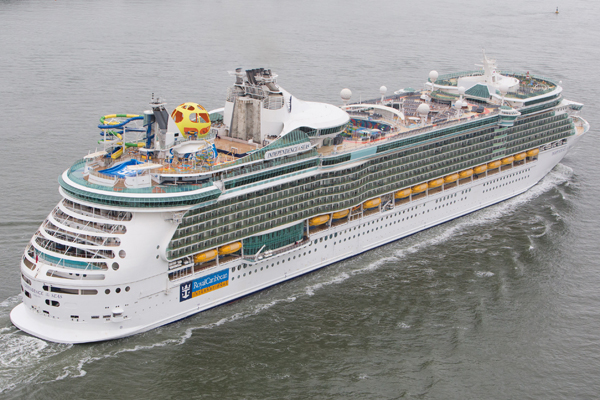 Newly refurbished Independence of the Seas arrives in Southampton