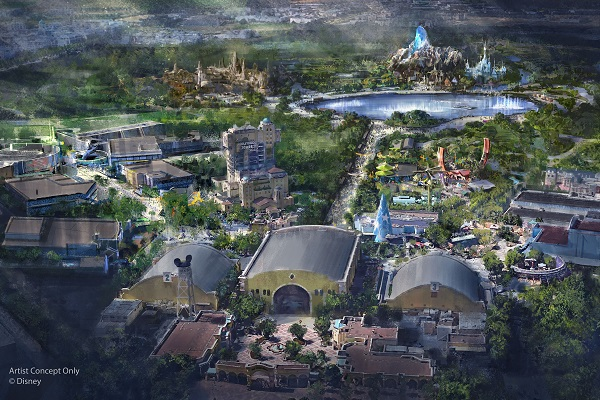 Disneyland Paris to undergo €2 billion expansion