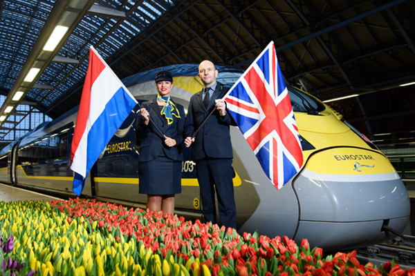 Eurostar previews London-Amsterdam service