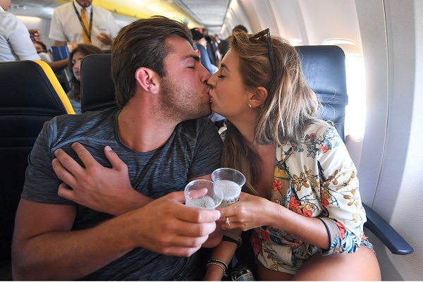 Love Island contestants fly home with sponsor's rival airline