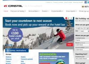 Crystal Ski reports 1% growth following four years of decline