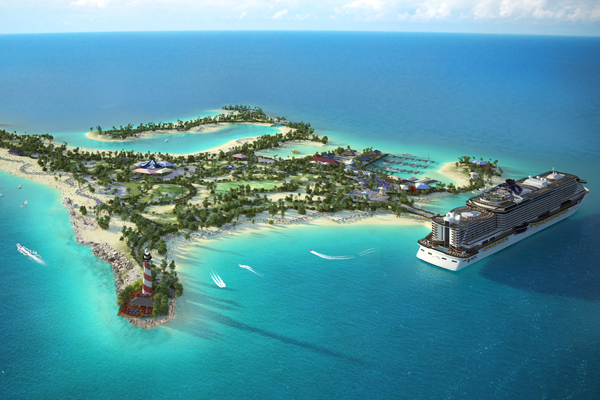 MSC Cruises reveals plans for private island