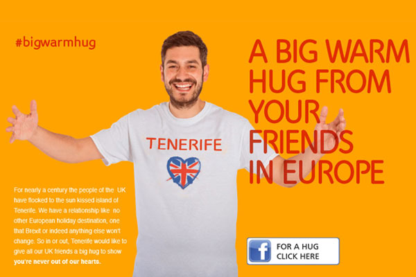 Tenerife social campaign highlights island's love of Brits