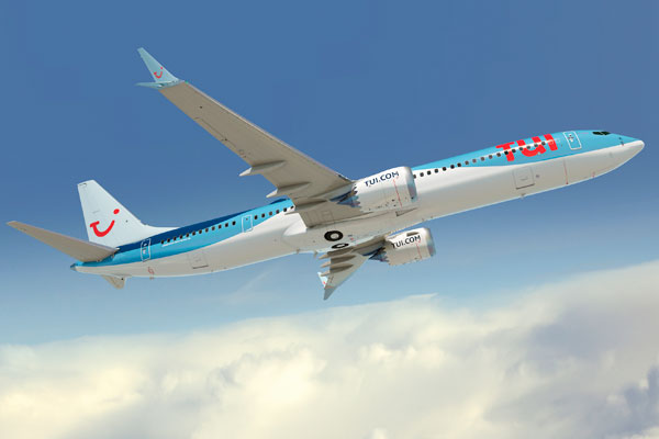 Tui Group confirms Boeing 737 MAX 10 aircraft order