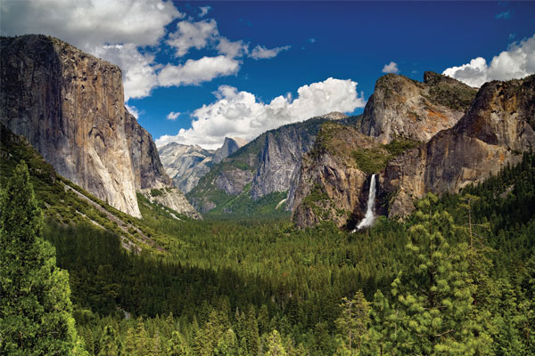 The US: Yosemite national park
