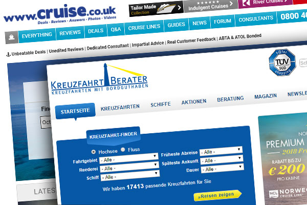 Cruise.co.uk seals €25 million deal for German cruise OTA