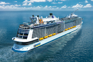 Quantum of the Seas' Southampton debut