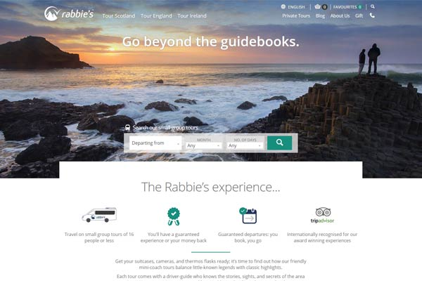 Scottish group tours specialist Rabbie's agrees deal with China's CTrip