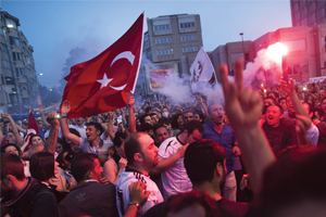 Turkey protests and crackdown threaten to deter British tourists