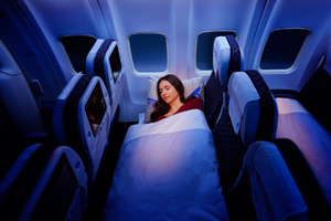 Air Astana introduces economy sleeper class