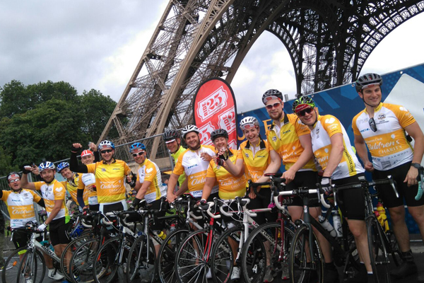 Thomas Cook staff raise £100k for charity in epic 175th anniversary cycle ride