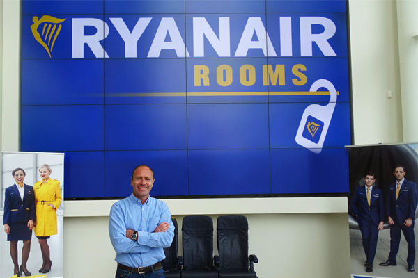 Ryanair to launch own-brand accommodation service
