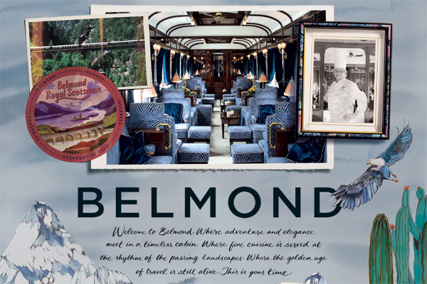 Belmond campaign celebrates 'art of living well' and travel's golden age