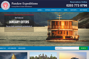WTM 2015: Pandaw River Expeditions targets family market