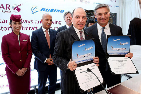 Qatar Airlines orders 40 more Boeing aircraft in multi-billion dollar deal