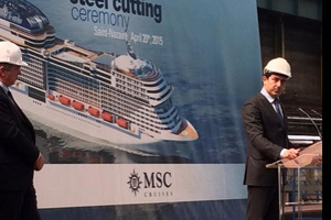 MSC reveals name of first 'Vista project' mega-ship