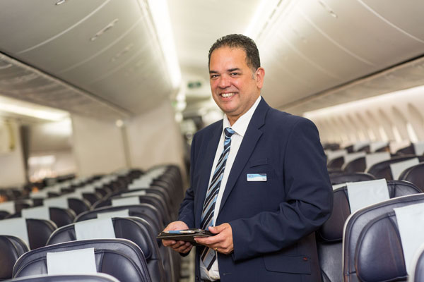 Tea or coffee? Tui's Nick Longman joins Thomson Airways cabin crew for the day