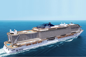 MSC Cruises' return to ex-UK sailings delayed by a year