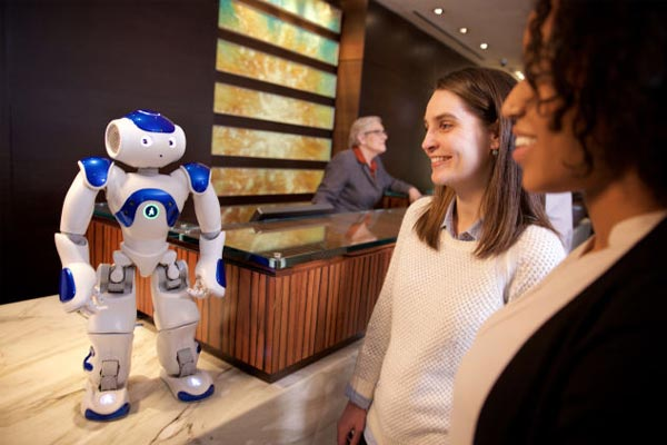 Hilton to trial 'Connie' the robot concierge