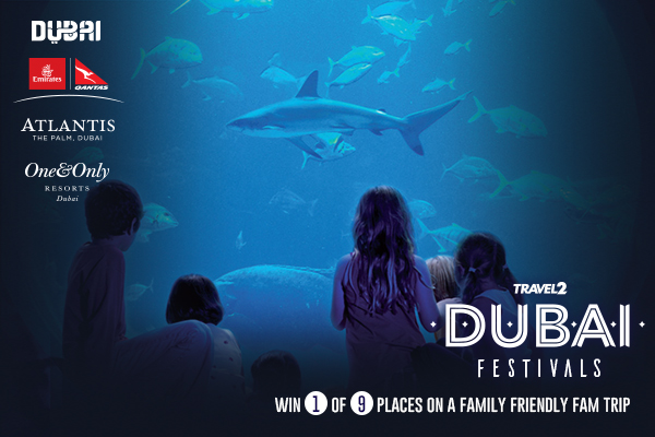 Win a place on a fam trip to  Dubai with Travel 2