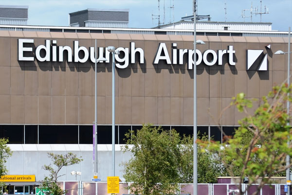 Edinburgh reports busiest ever month for a Scottish airport