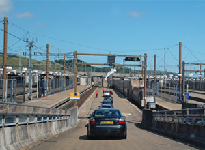 Calais Eurotunnel entrance hit by fresh strike action