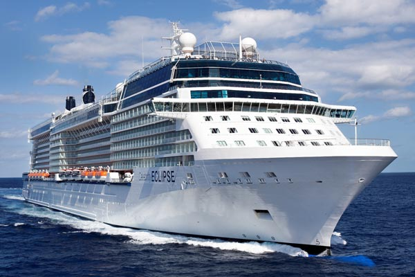 Celebrity Cruises mourns death of Eclipse godmother