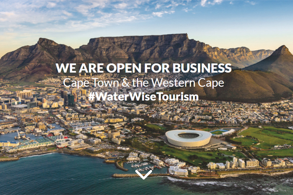 Cape Town 'open for business' despite water crisis