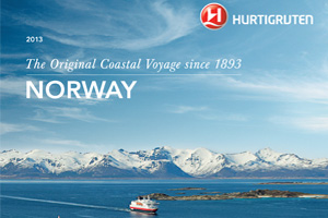 Hurtigruten releases main brochure six months early