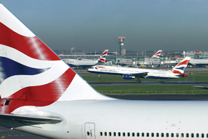 Aviation firms sued by passengers forced to escape from blazing BA aircraft