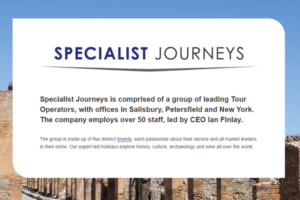 Specialist Journeys seeks further niche operator acquisitions
