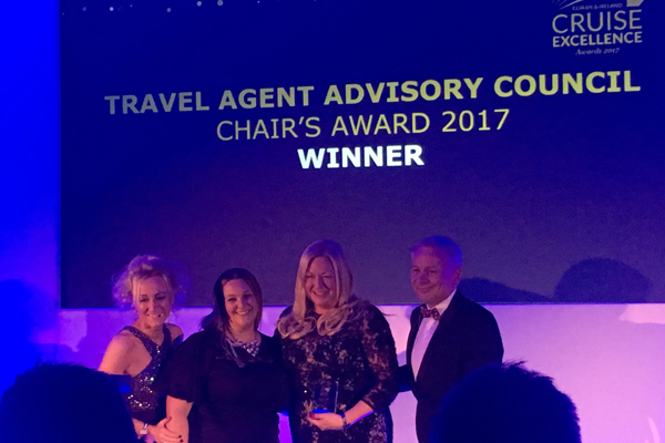 Agents honoured at ninth Clia Cruise Excellence Awards