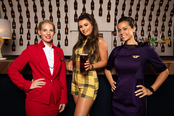 Virgin Atlantic and Delta team up with Dani Dyer to open pop-up pub
