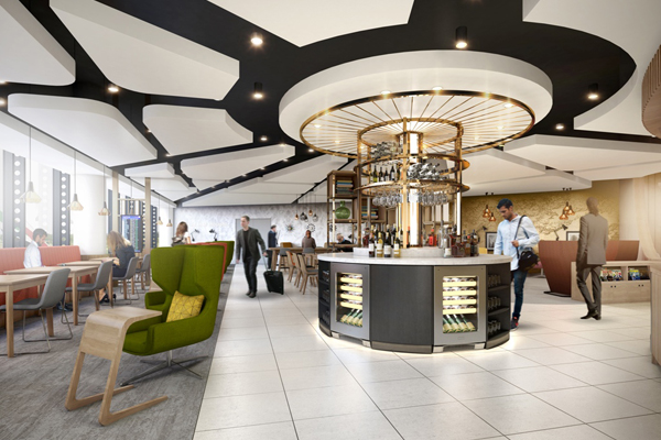 Manchester airport unveils '1903' lounge