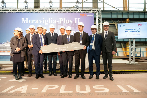 MSC Cruises unveils plans to build fifth Meraviglia class vessel