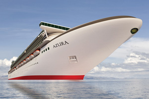 Three extra sailings for P&O Cruises as Azura dry dock is postponed