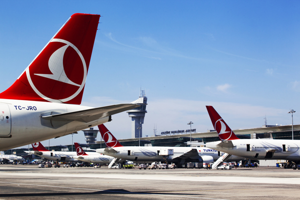 Turkish Airlines passenger carryings up 19% in year to May