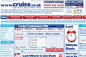 Cruise.co.uk poised for global roll-out